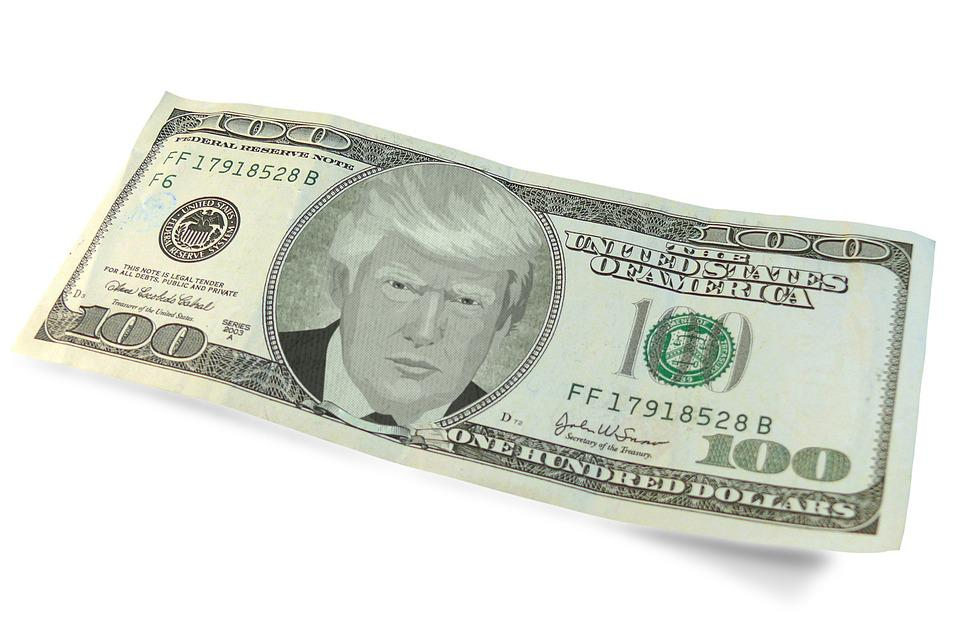 Trump, Dollar, Trade Deal, Symbol, Money, Donald Trump