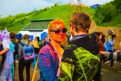 The Festival Of Colors, Holi, Moscow