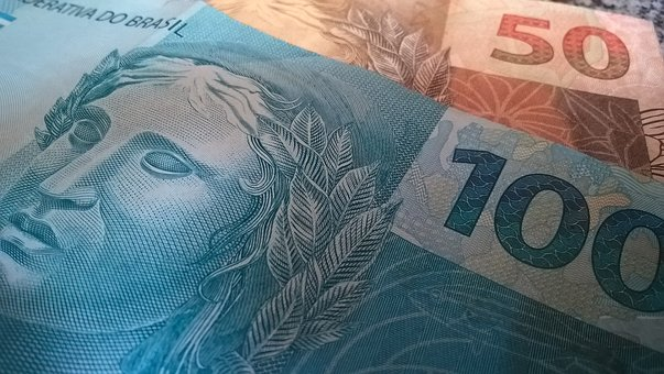 Dinheiro, Real, Reais, Moeda Brasileira