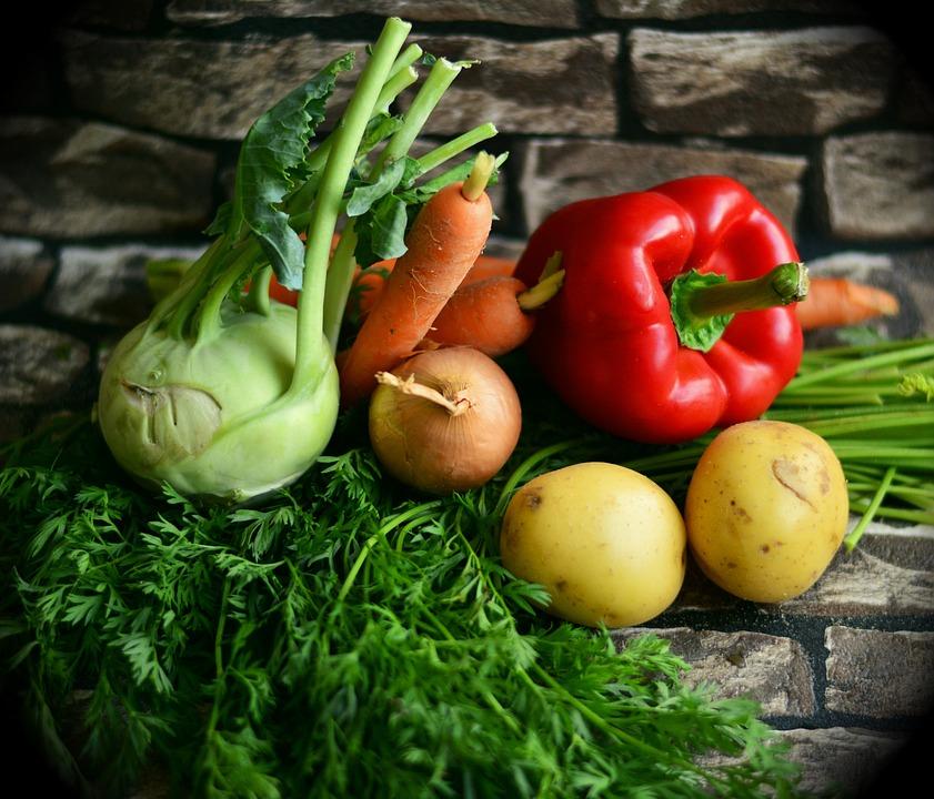 Sayur Sayuran Warna-Warni - Foto gratis di Pixabay