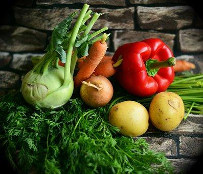 野菜, 色とりどりの野菜, ミックス野菜, 健康, 収穫, ビタミン, パプリカ