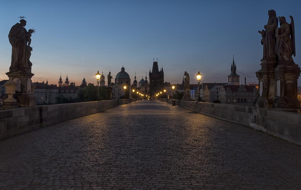 Prague, Charles Bridge, Historically, City