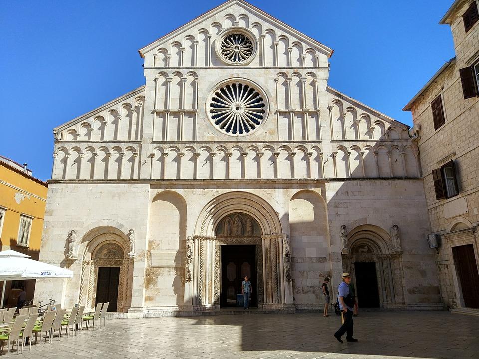 Zadar, Croatia, Cathedral, Mediterranean, Tourism