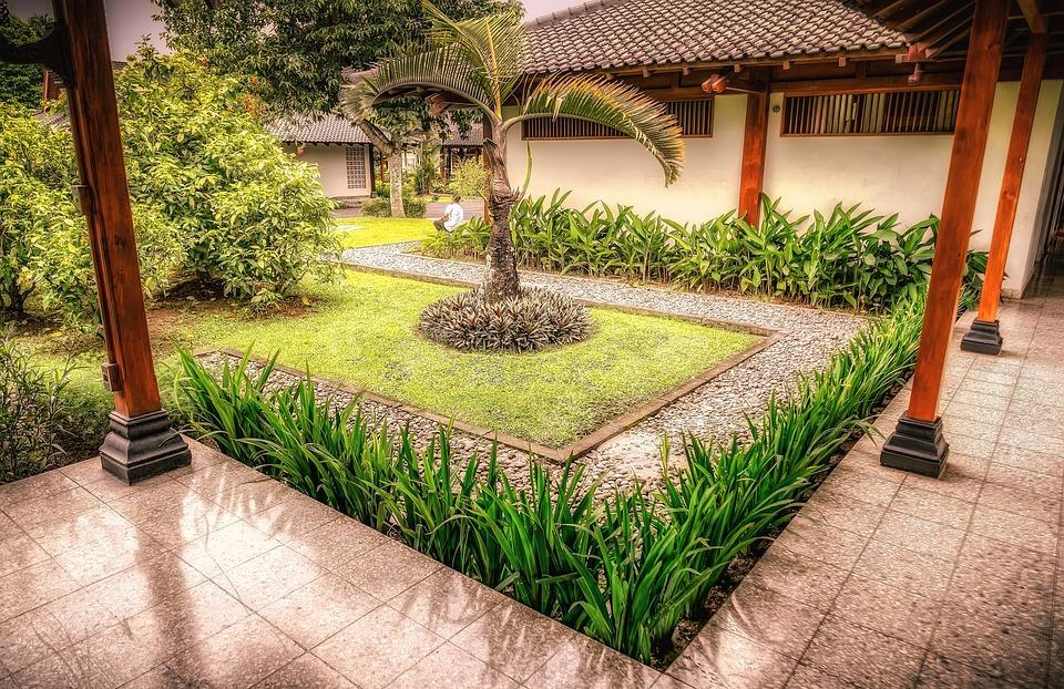 Gratis billede bali haver gr n indonesien gratis for Les jardins de bali