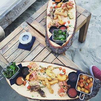 前菜, 食品, フランス, 料理, スナック, 夕食, 食事, レストラン