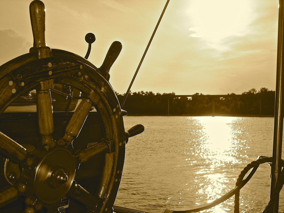 Bateau, Roue, Navire, Mer, Nautiques, Voyage, Marine