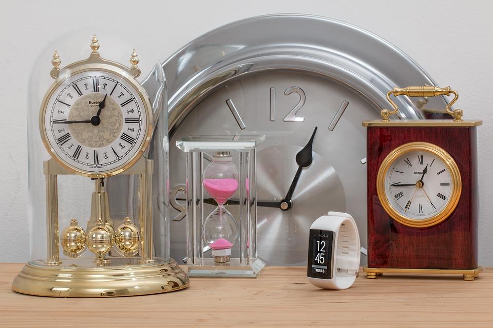 Tempo De, Relógios, Ampulheta, Gerenciamento De Tempo
