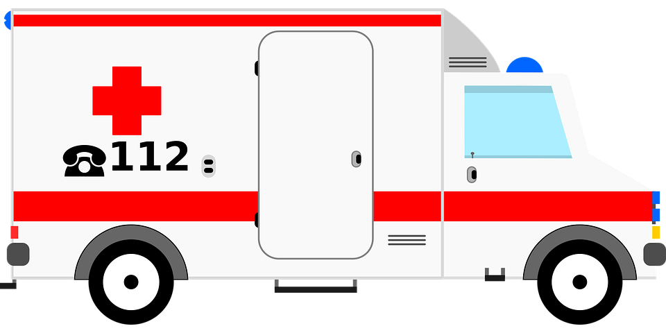Ambulance, Auto, Emergency Medical Services