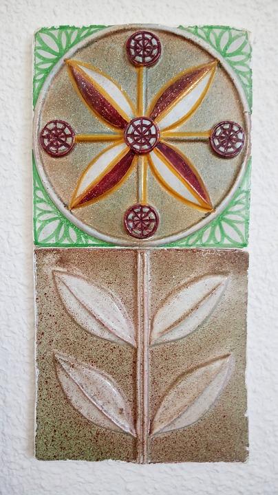 Mosaico Flor Cerámica · Imagen gratis en Pixabay