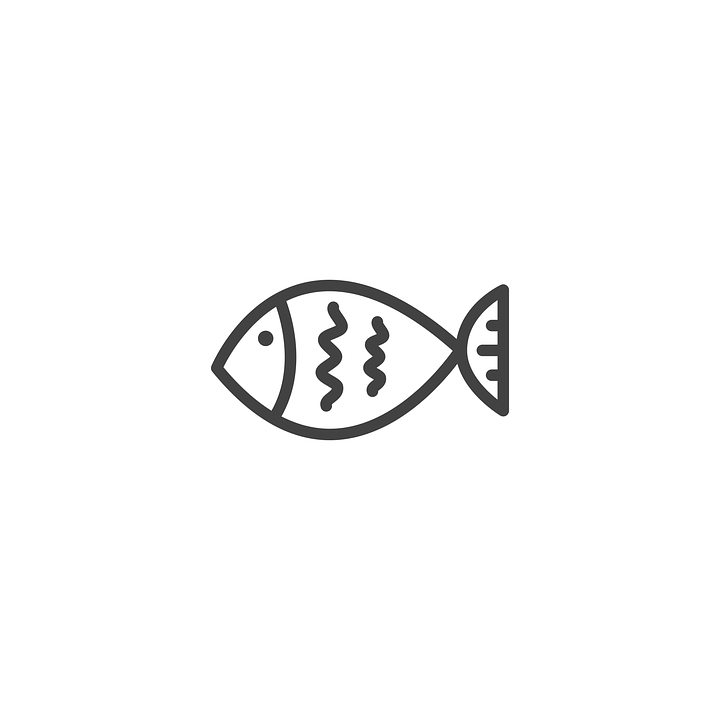 Fish Icon Design · Free vector graphic on Pixabay Laptop Vector Illustration