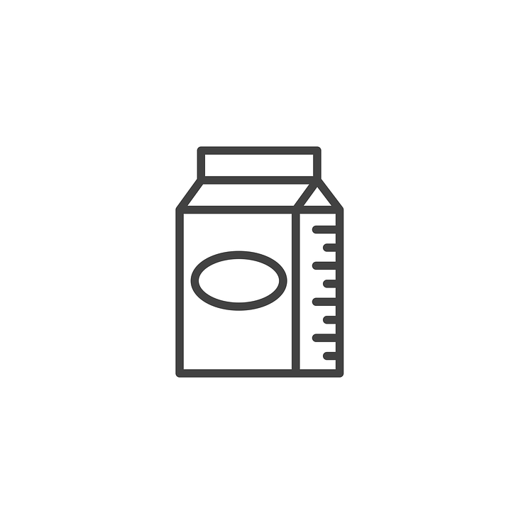 Milk Icon Food - Free vector graphic on Pixabay