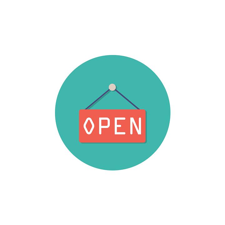 オープン, アイコンを, 記号, シンボル, ホワイト, ビジネス, デザイン, Web, インターネット