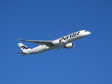 エアバス社, のA350, フィンランド航空, 航空機, 飛行機, 井公園