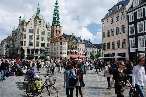 Strøget, Centro de Copenhage