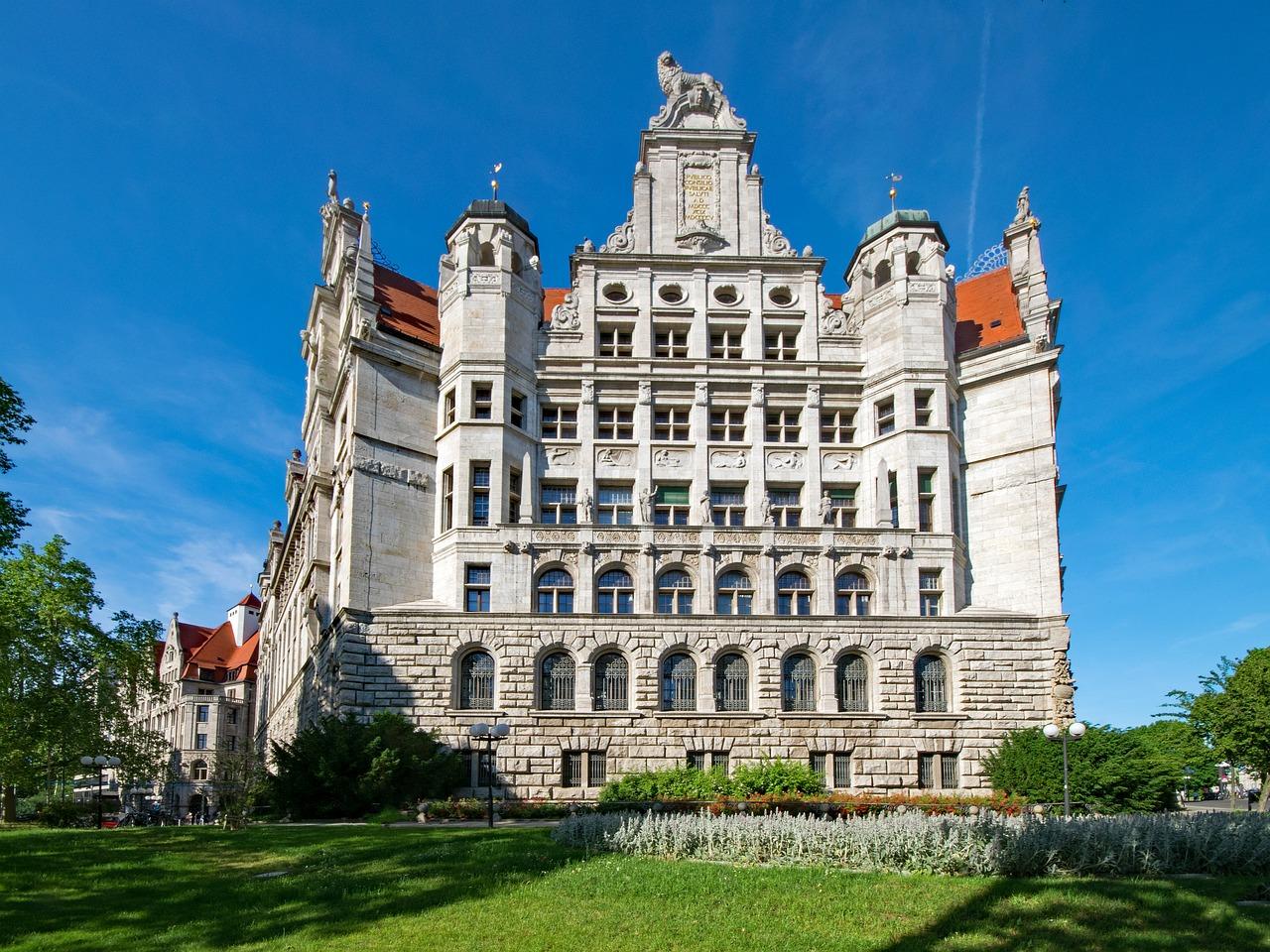 New Town Hall Leipzig Saxony Free Photo On Pixabay