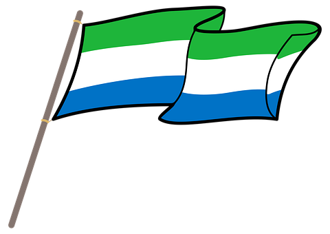 Sierra Leone, Flag, Graphics