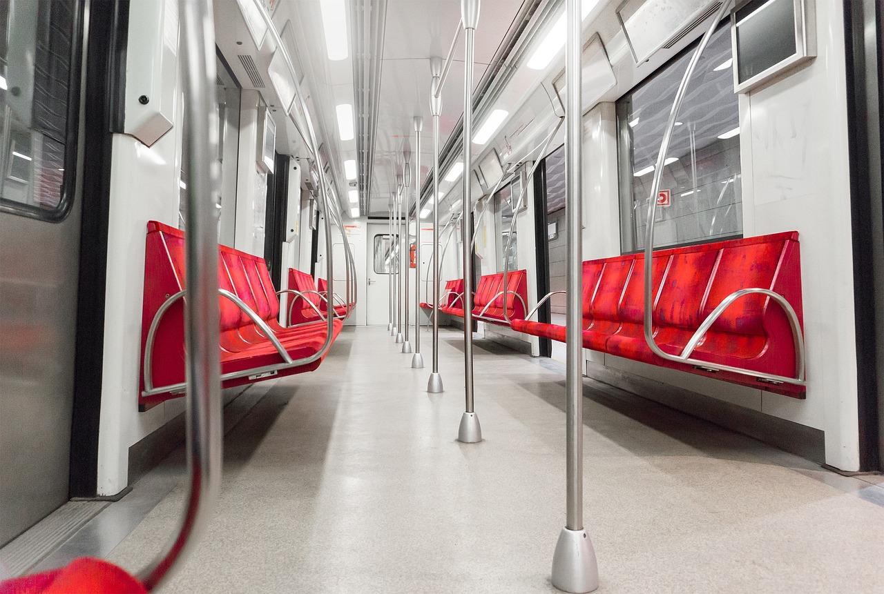 Metro, Subway, Underground, Train, Empty, Railway