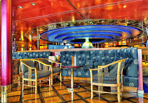 Table And Chairs, Cruise Ship, Cruise