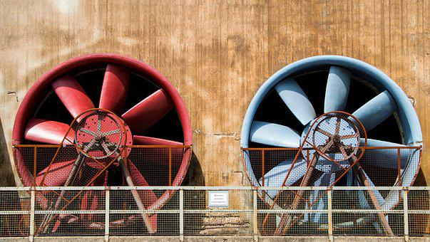 Ventilador, roda de pás, Duisburg