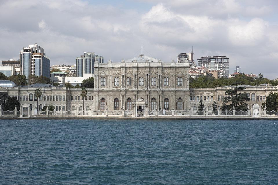 Dolmabahçe Sarayı, Beşiktaş, Istanbul, Deniz, Su