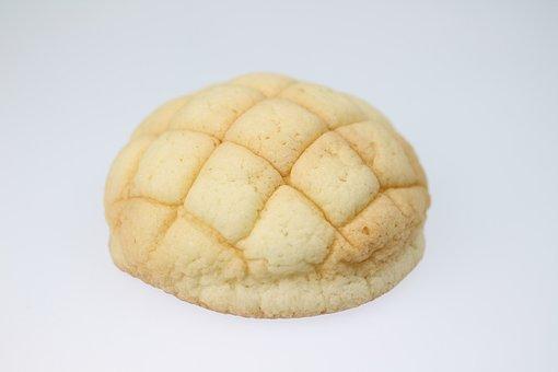 メロンパン, パン, メロン, おやつ, メロンパン, メロンパン, メロンパン
