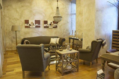 salon armchair table furniture home - Home Salon Furniture