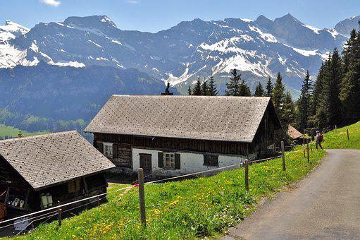 Swiss Mountain House swiss, alps - free pictures on pixabay