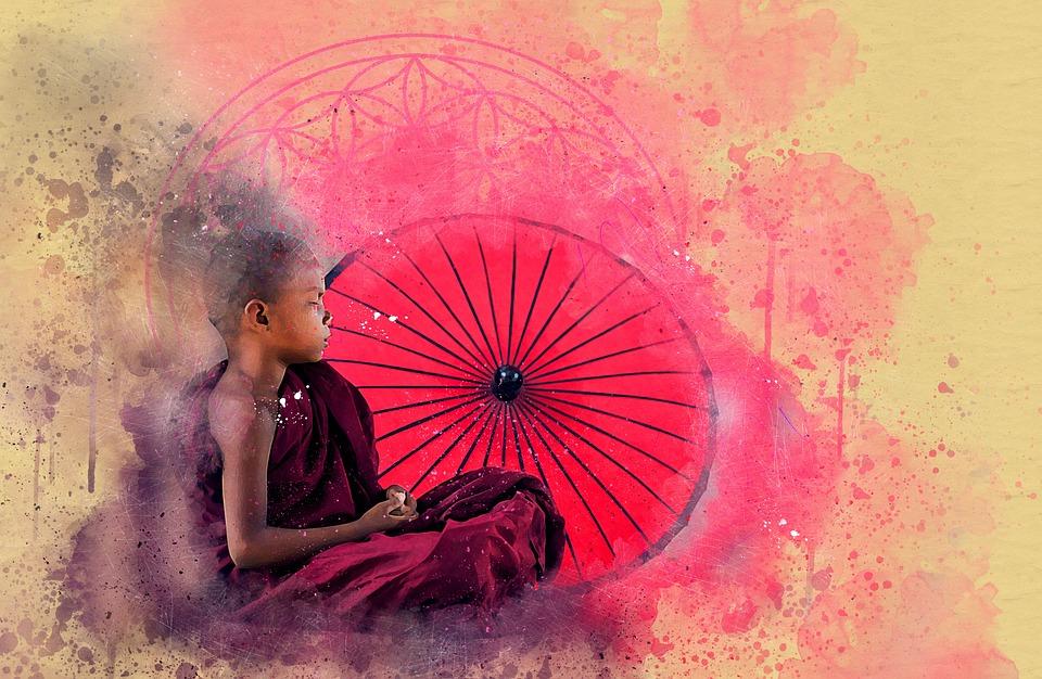 Bouddha Fleur De La Vie Meditation Photo Gratuite Sur Pixabay