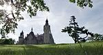 pałac, zamek, bajkowy