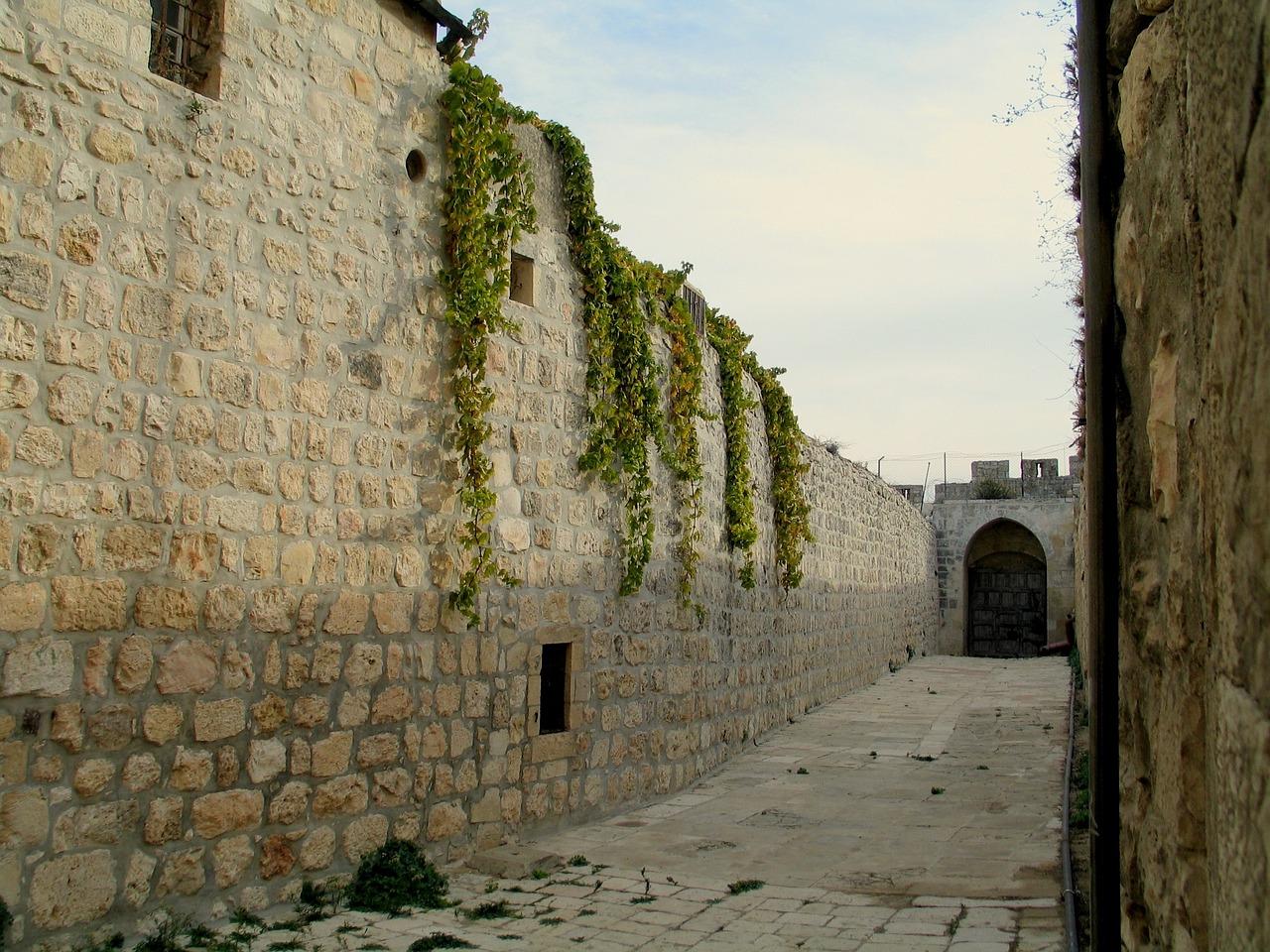 красивые стены иерусалимские картинка коттеджных