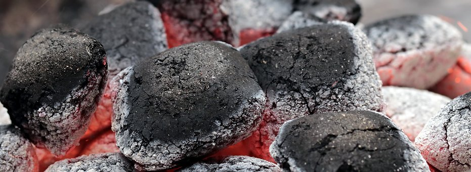 Charcoal, Embers, Barbecue, Carbon, Hot