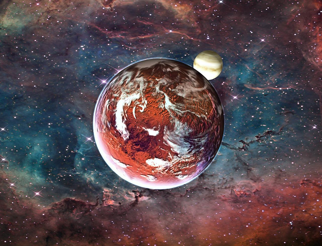 Поиск картинки с планетами