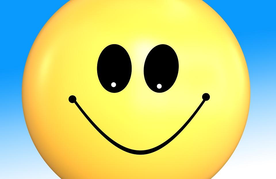 Ilustración Gratis: Smilies, Alegría, Sonrisa, Feliz