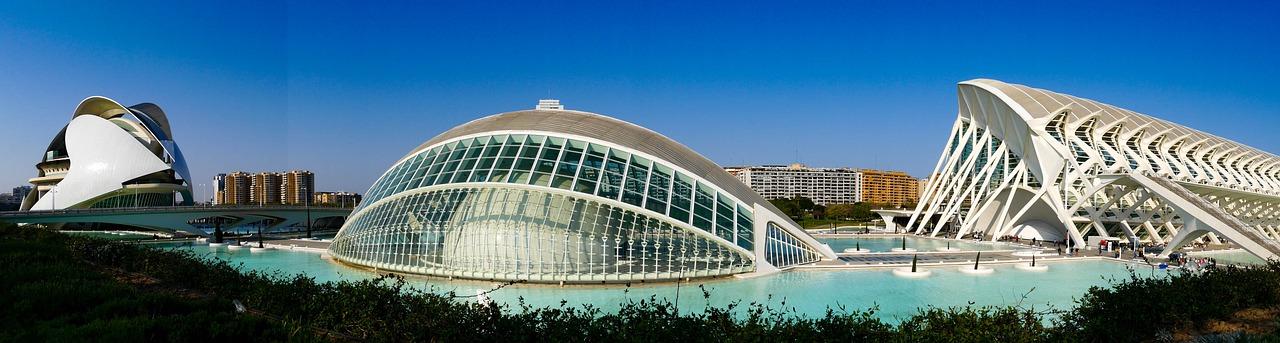 Ciudad de Las Artes y Las Ciencias in Valencia Barcelona-Home