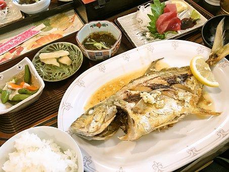 魚, 定食, 魚定食