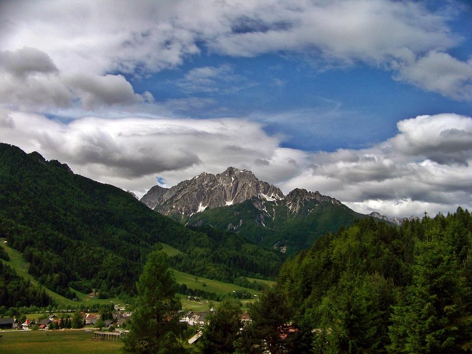 Karawanken, Slovenia, The Gorenjska Region, Jumbo