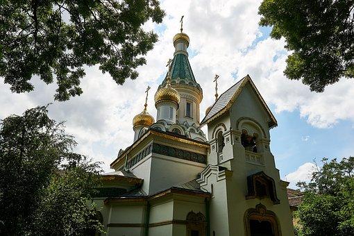 Iglesia rusa de San Nicolás Sofia