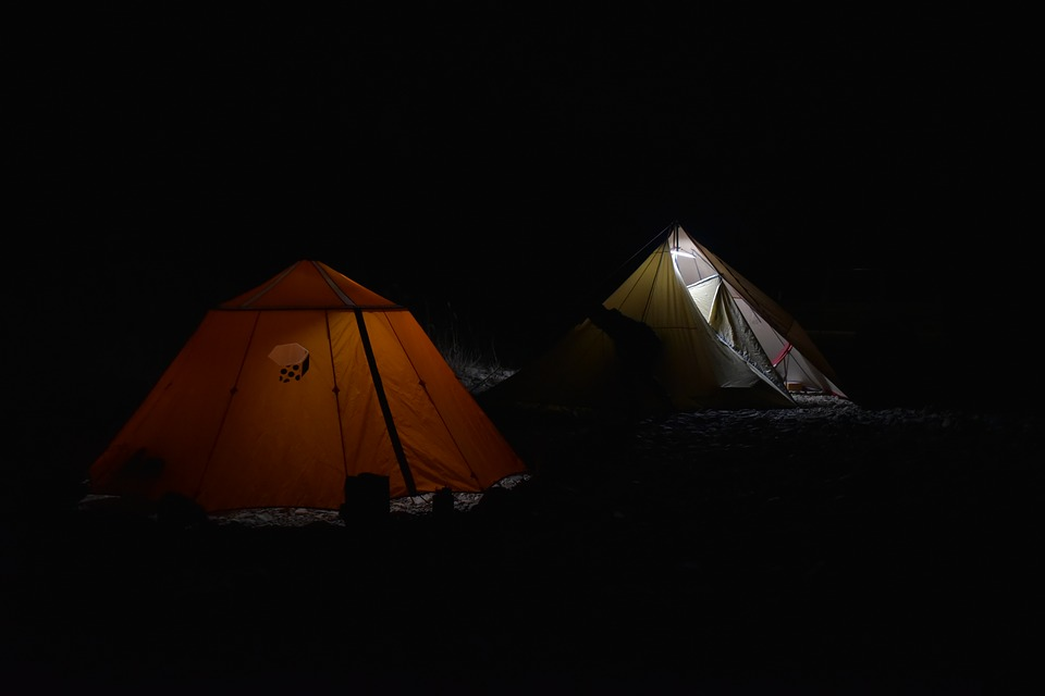 Tent Night View Camping