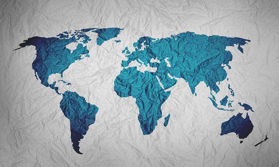 Map Of The World Background Paper Free image on Pixabay
