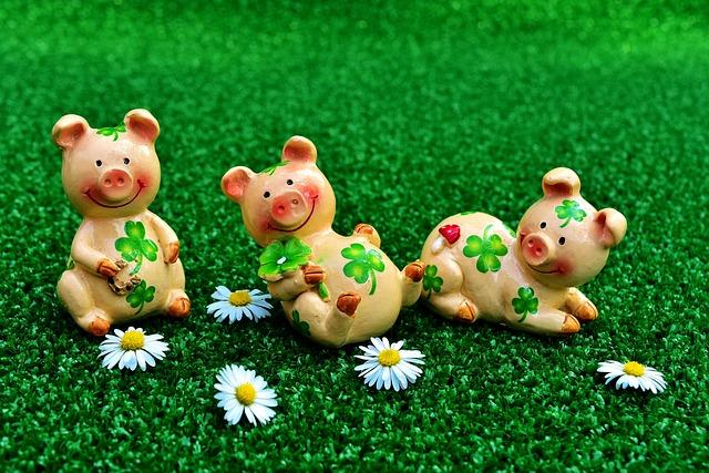 Gl 252 Cksschweinchen Figuren Niedlich 183 Kostenloses Foto Auf