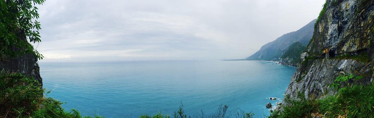 台湾, 海水準上昇, 海, ブルー
