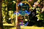 soap bubble, huge, large