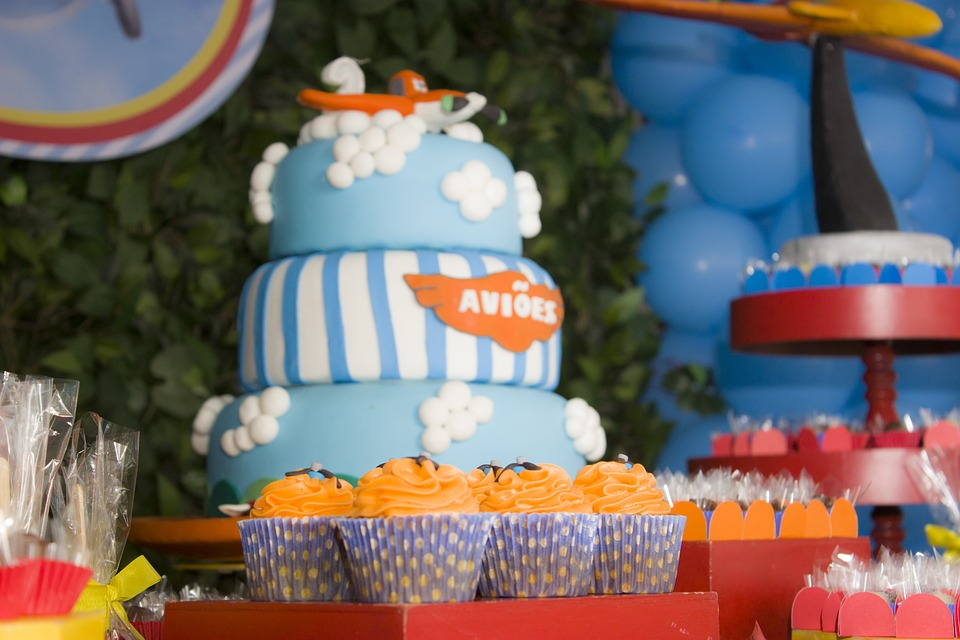 Childrens Party Birthday Child Parties Cake Candy