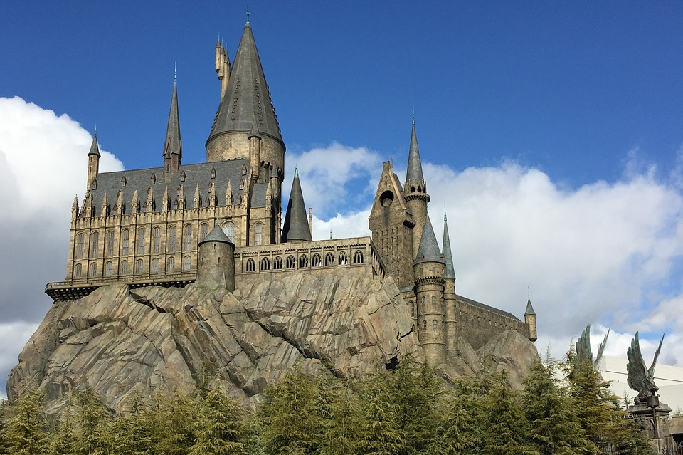 Hogwarts, Castle, Harry Potter, Osaka