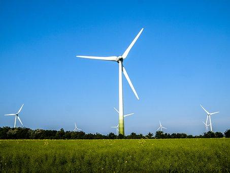 Windräder, Paisaje, Energía Eólica