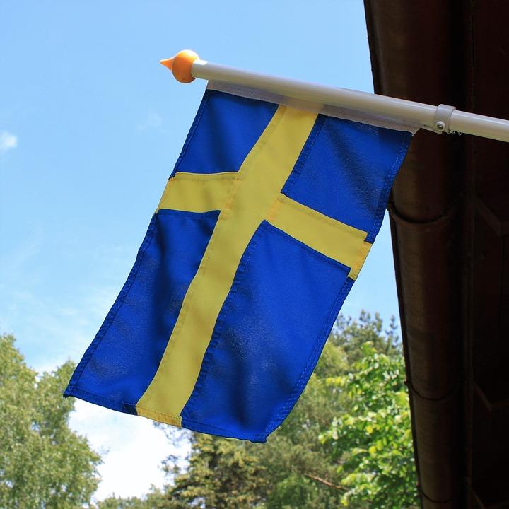 Midsommar Svenska Flaggan Gratis Foto På Pixabay