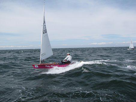 Sail, Dinghy, Ok-Dinghy, Regatta