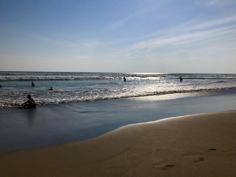 Spiaggia Di Seminyak, Bali, Beach, Viaggio, Estate