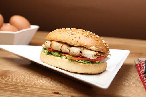 Breakfast, Sandwich, A Sandwich, Toast