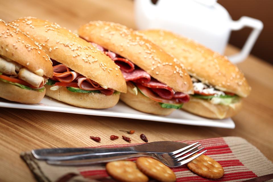 Breakfast, Sandwich, A Sandwich, Toast, Snack